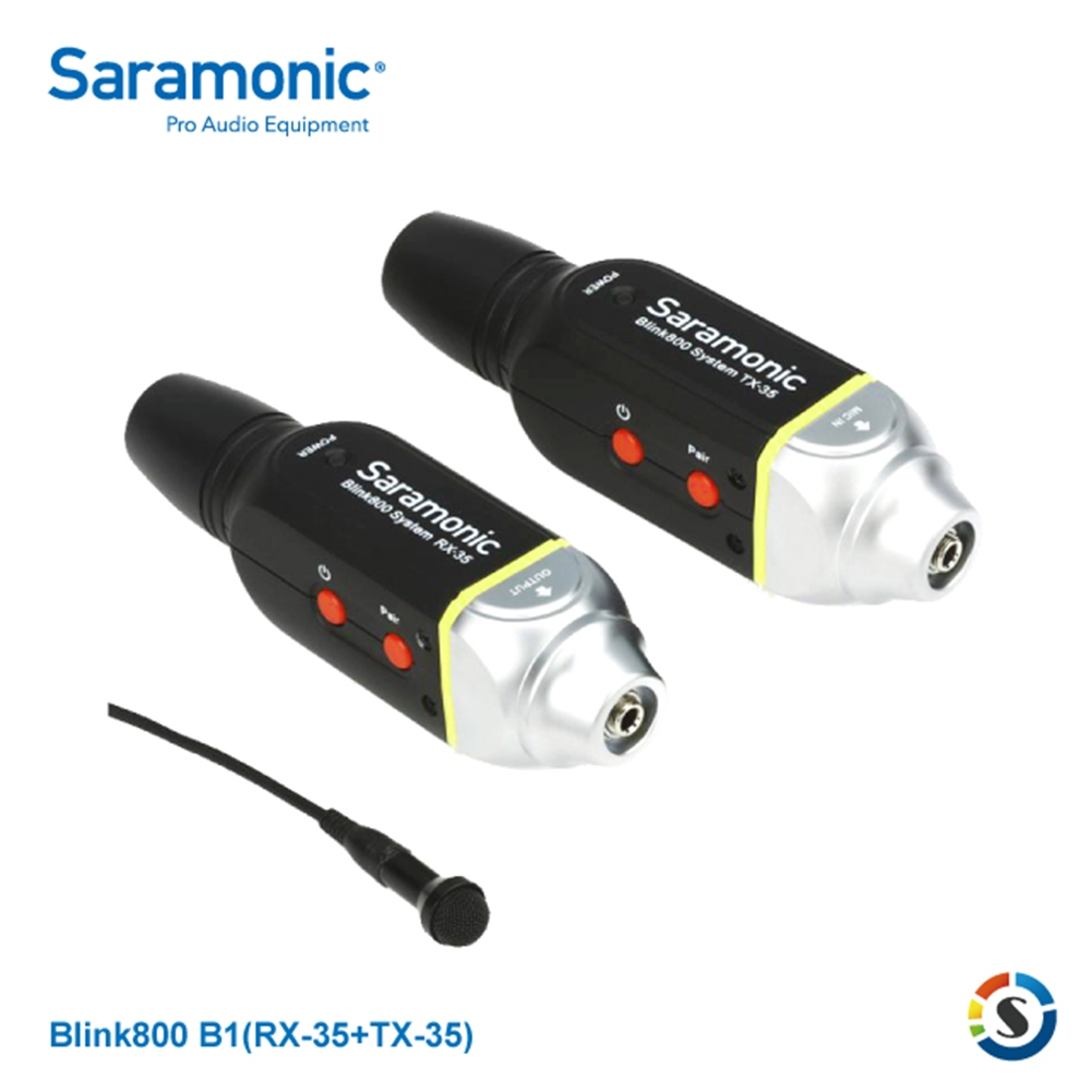 Saramonic楓笛 Blink800 B1 一對一無線麥克風套組