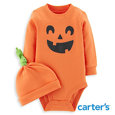 Carter s 萬聖節南瓜造型連身裝