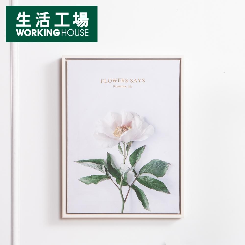 【品牌週全館8折起-生活工場】Romance掛畫40x30CM