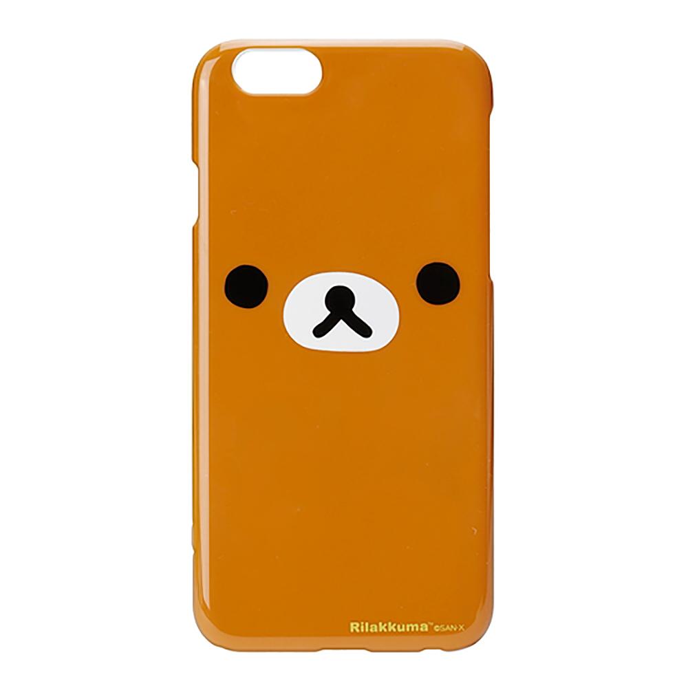 【日本 PGA】iPhone6/6S San-X 大臉系列 手機硬殼 - 拉拉熊