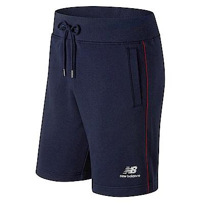 New Balance經典條紋針織短褲AMS91521PGM_男_深藍