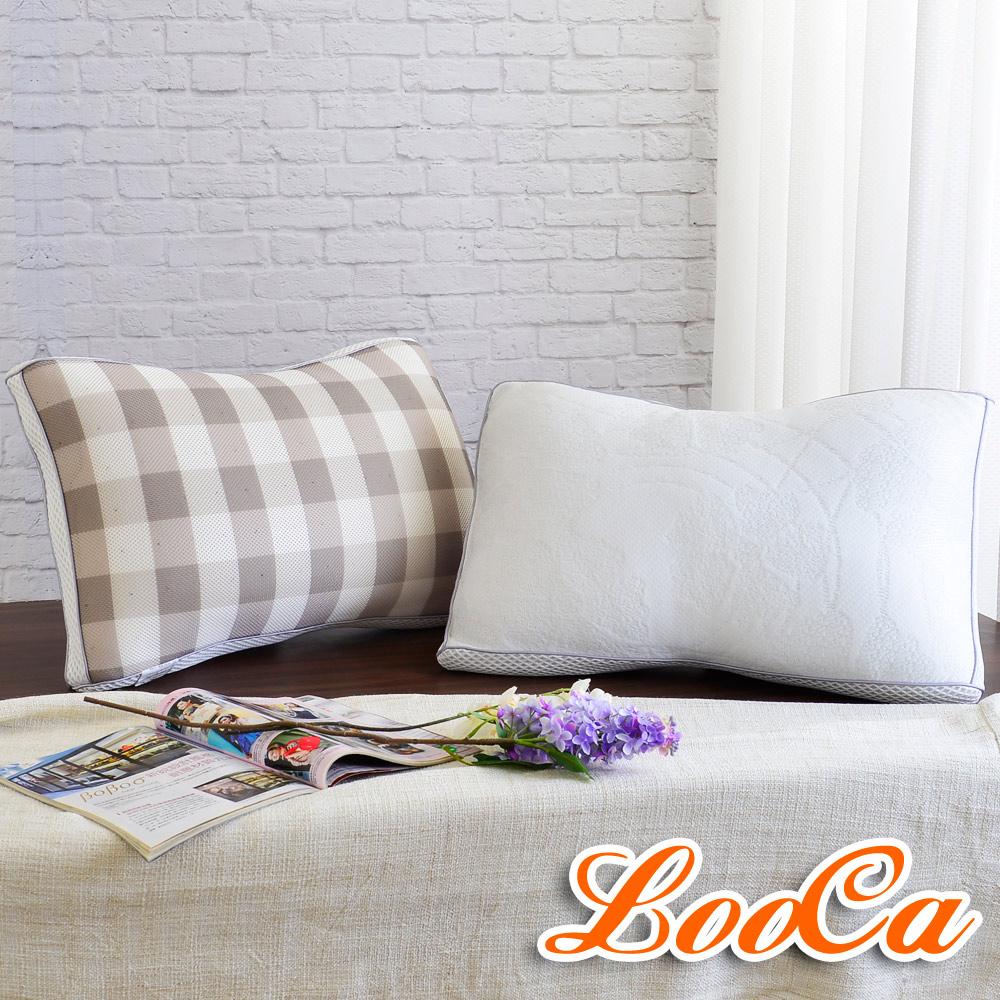 [團購]LooCa 全智能三段式乳膠負離子獨立筒枕八入組