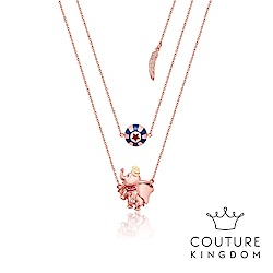 Disney Jewellery by Couture Kingdom小飛象雙層玫瑰金項鍊