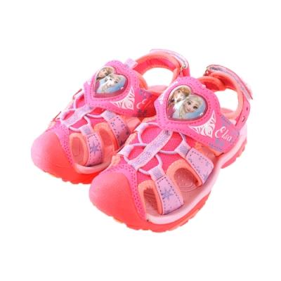 女童冰雪奇緣護趾閃燈運動涼鞋 sa94103 魔法Baby