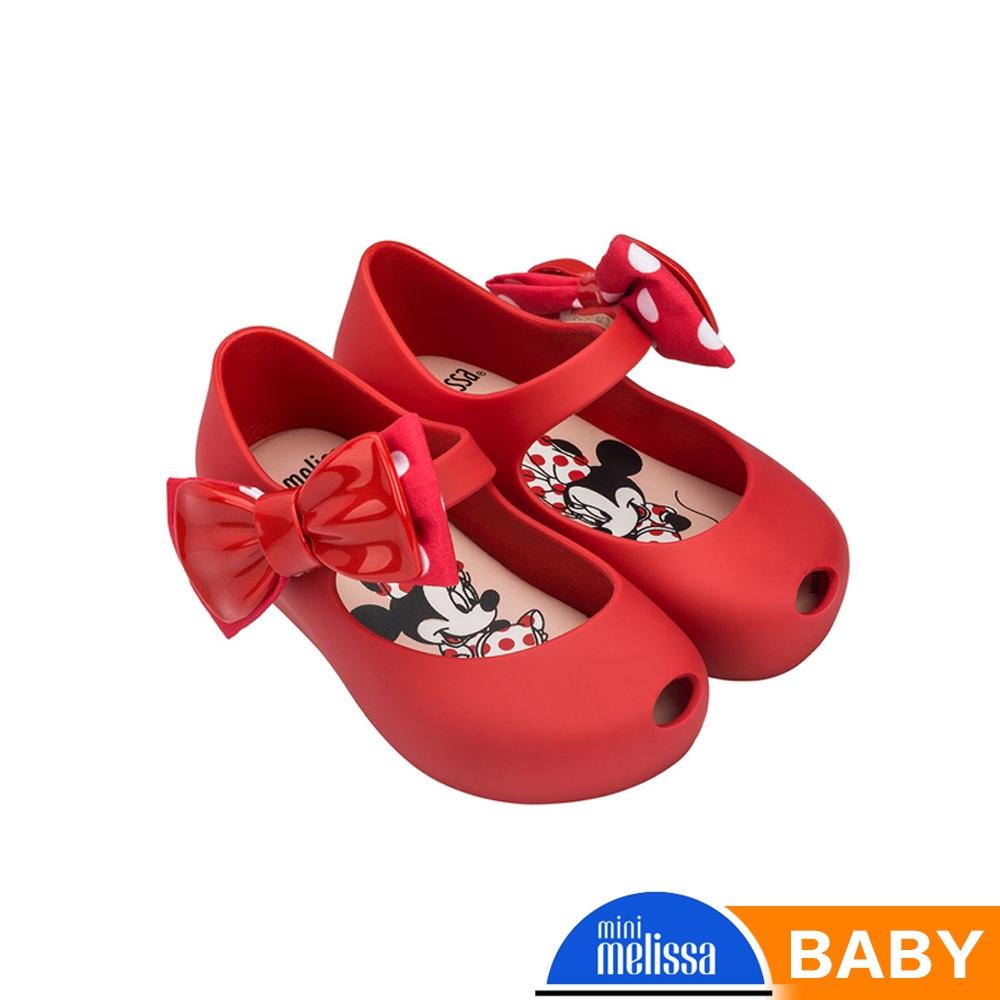 [Melissa] Mickey國際聯名款 娃娃魚口鞋 寶寶款 紅