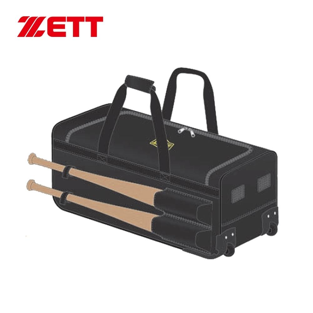 ZETT 拉桿式滾輪裝備袋 黑 BAT-760