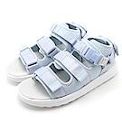 New Balance-女涼拖鞋-淺藍