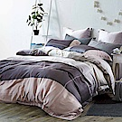 Ania Casa 純品 天絲 100% TENCEL 加大鋪棉兩用被套床包四件組