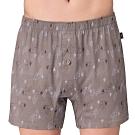 SOLIS 挪威森林系列M-XXL寬鬆印花四角男褲(月光岩)
