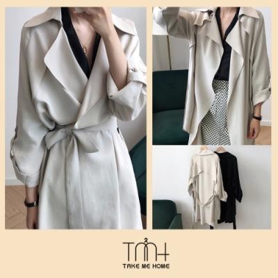 韓國高質感風衣-2色-TMH