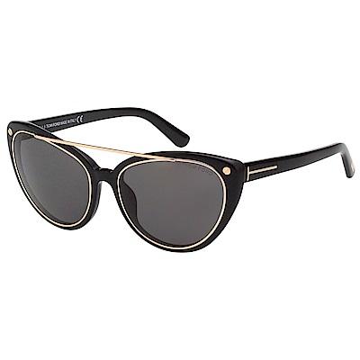 TOMFORD 率性 太陽眼鏡(黑色)TF384