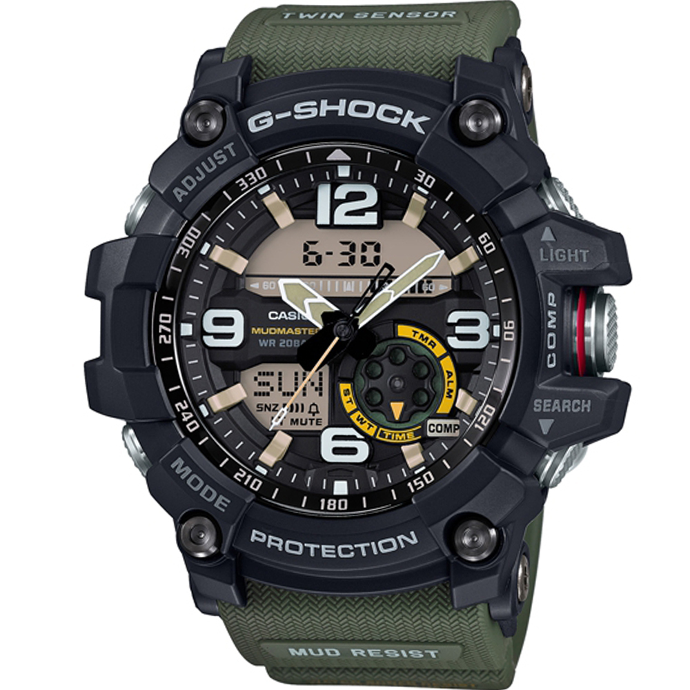 G-SHOCK 極限陸上強悍運動錶(GG-1000-1A3)綠/55.3mm