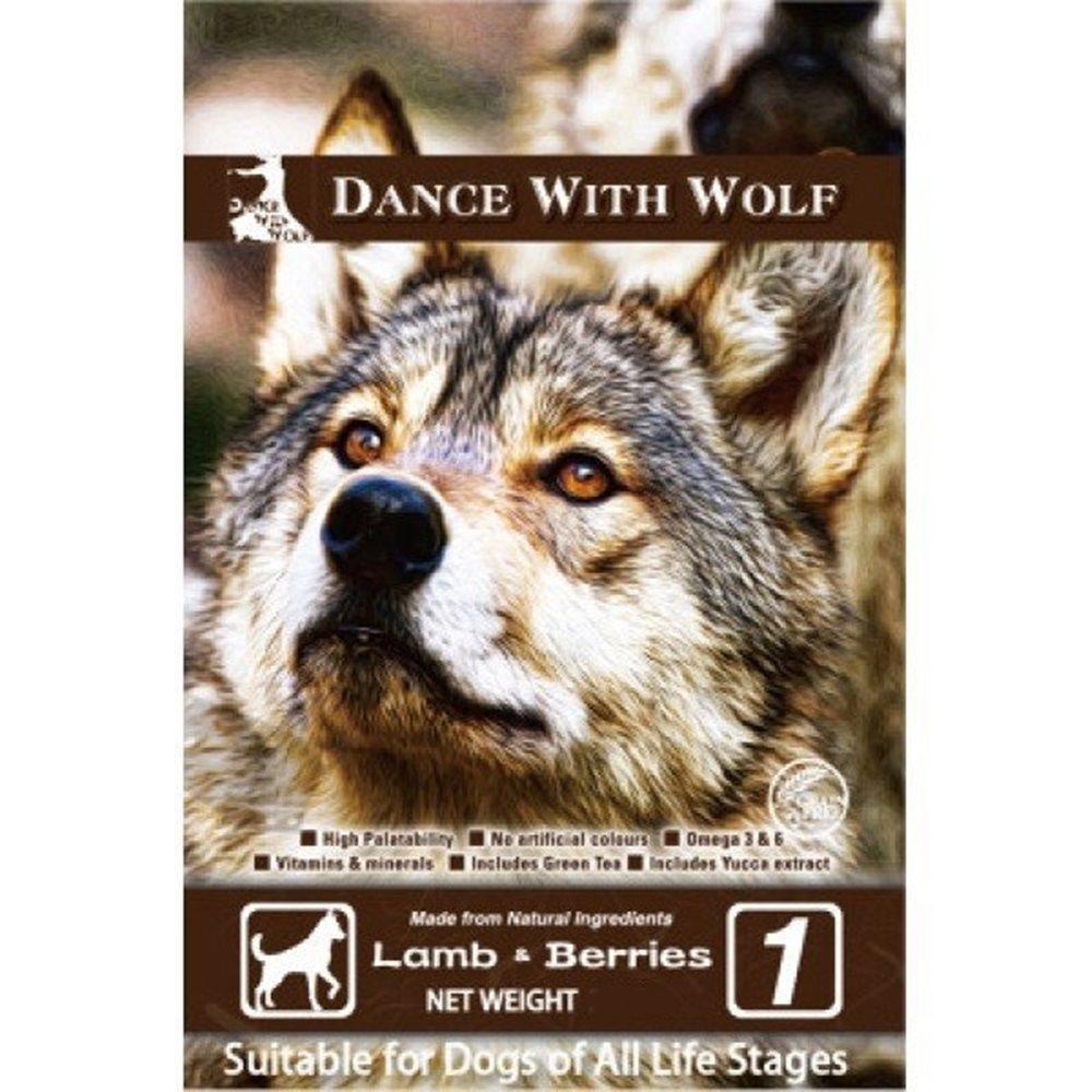 荒野饗宴之與狼共舞 草原羊肉莓果 無穀狗糧 5.5磅