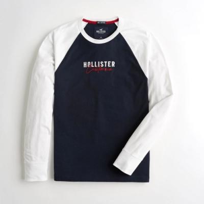 Hollister HCO 長袖 T恤 藍色  1432