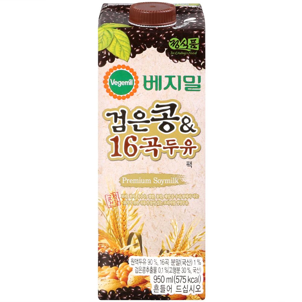 Vegemil 活力雜糧黑豆乳(950ml)