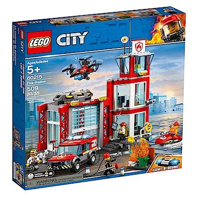 樂高LEGO 城市系列 - LT60215 消防局