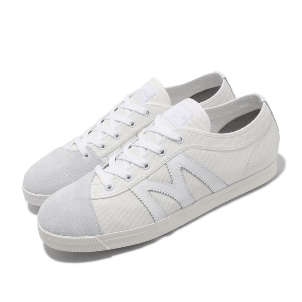 Mizuno 休閒鞋 School Trainer 復古 男鞋 美津濃 上學 小白鞋 基本款 穿搭 白 灰 D1GA196101