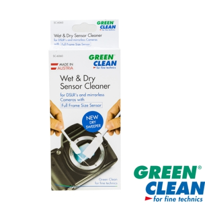 GREEN CLEAN WET DRY  Cleaner SC-6060乾濕全片幅清潔擦拭棒 4入