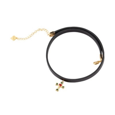 NOONOO FINGERS CROSS CHOKER 頸鍊