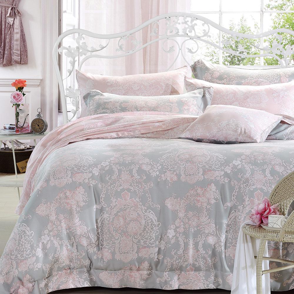 岱思夢 加大 天絲床包枕套三件組(3M專利吸濕排汗技術) 安娜