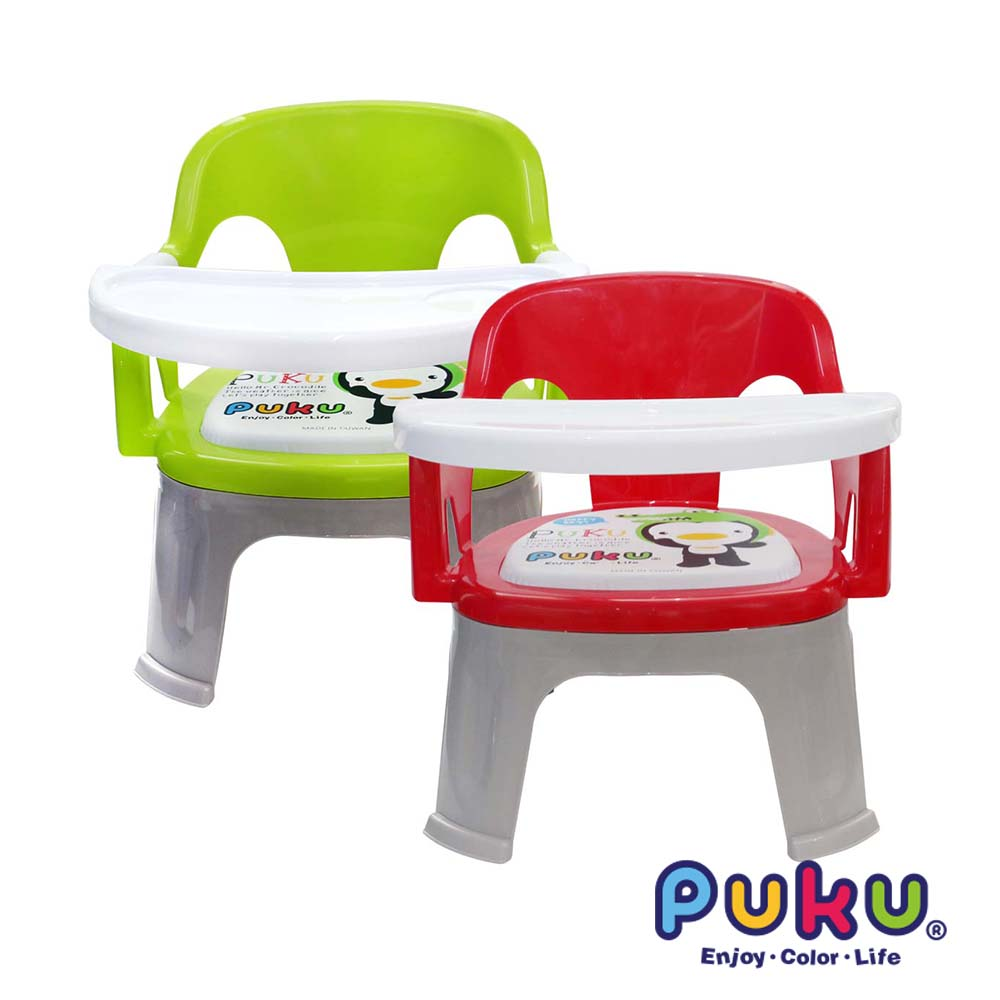 【PUKU】Crocodile小鱷魚餐盤BB椅