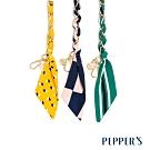 PEPPER'S Reese 絲巾金鍊短背帶 - 3色