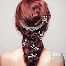 Hera赫拉 甜美珍珠U型髮簪頭飾