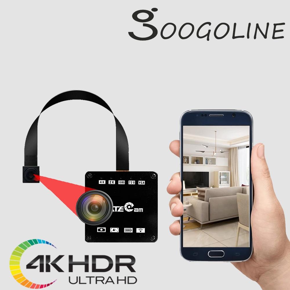 【4KX1】4K畫質 2160P Sony 1600萬畫素 無線針孔攝影機 無線微型攝影機 無線監視器 無線針孔