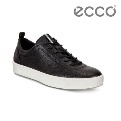 ECCO SOFT 8 W 簡約休閒鞋 女-黑