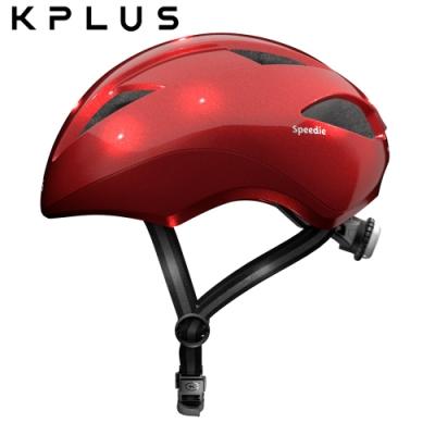 KPLUS-兒童休閒運動安全帽-SPPEDIE素色版-紅