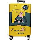 RAIN DEER 高彈力行李箱保護套輕旅行系列(適用24吋-隨機出貨)
