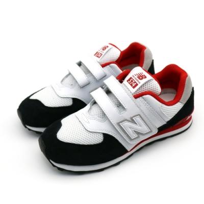 NEW BALANCE  中大童休閒鞋-YV574NSB-W