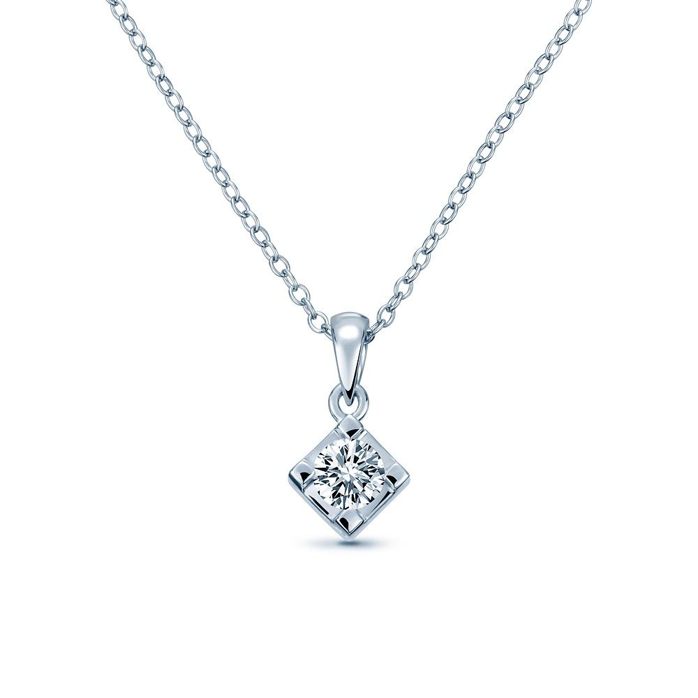 Alesai 艾尼希亞鑽石 30分 鑽石項鍊 3選1 (日本輕珠寶10K系列) (APF37)