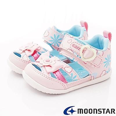 日本Carrot機能童鞋 護趾涼鞋款 BON134粉(寶寶段)