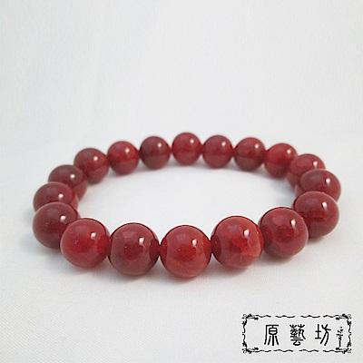 原藝坊 紅龍麟圓珠手鍊(直徑約12 mm)