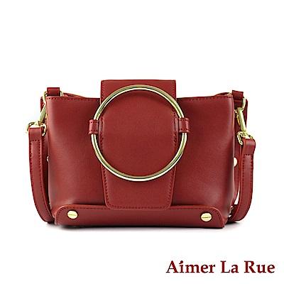 Aimer La Rue 側背斜背包 真皮唯美經典系列(四色)