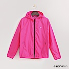Hang Ten - 女裝-ThermoContro-拉鍊設計機能連帽外套-桃紅