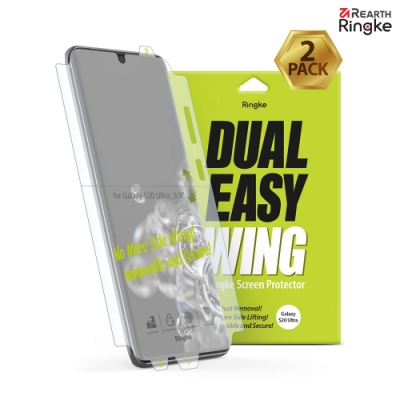 【Ringke】Galaxy S20 Ultra [Dual Easy Wing] 螢幕保護貼-2入