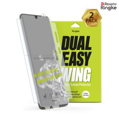 【Ringke】Galaxy S20 Ultra [Dual Easy Wing] 螢幕保護貼-2入
