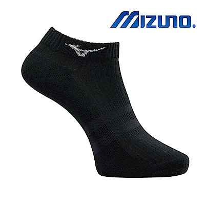 MIZUNO 男運動厚底踝襪 5入 黑 32TX920109