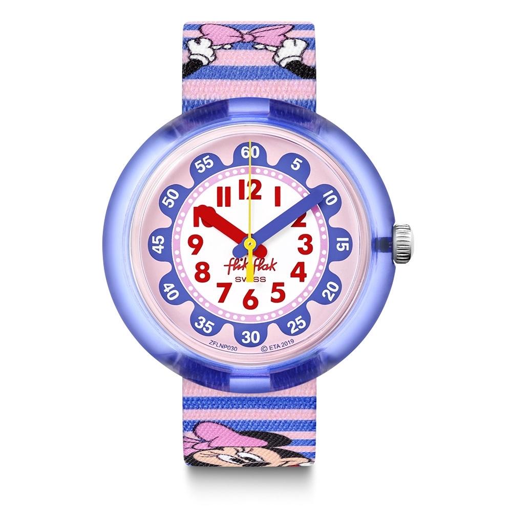 FlikFlak 兒童錶 MINNIE STRIPES -31.85mm