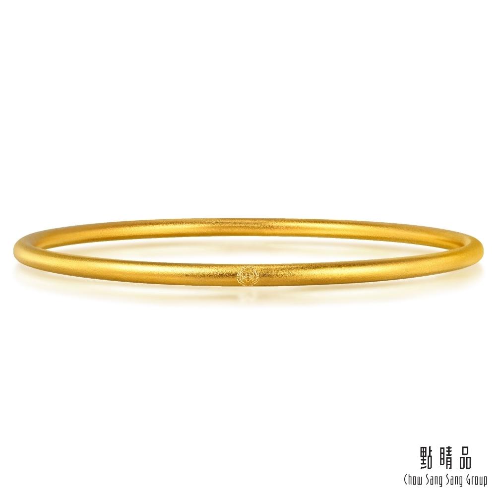 點睛品 東方古祖 祝福滿滿細緻黃金手環/手鐲_計價黃金