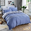 Betrise 地平線 特大-植萃系列100%奧地利天絲四件式兩用被床包組