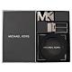 MICHAEL KORS MK雙皮帶頭雙面皮帶禮盒組(藍黑) product thumbnail 1