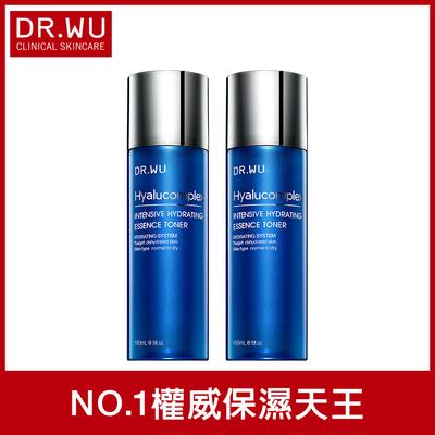 折100贈面膜3片★(買一送一)DR.WU玻尿酸保濕精華化妝水150ML