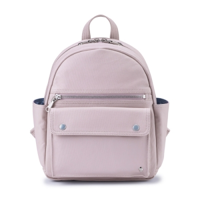 PORTER - 輕甜繽紛SPIRIT百搭時尚後背包 - 藕粉紫(銀)