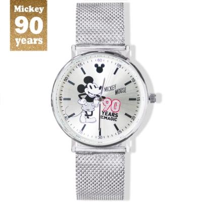 DISNEY迪士尼90周年紀念系列手錶-Mickey90魔力米奇38mm米蘭帶