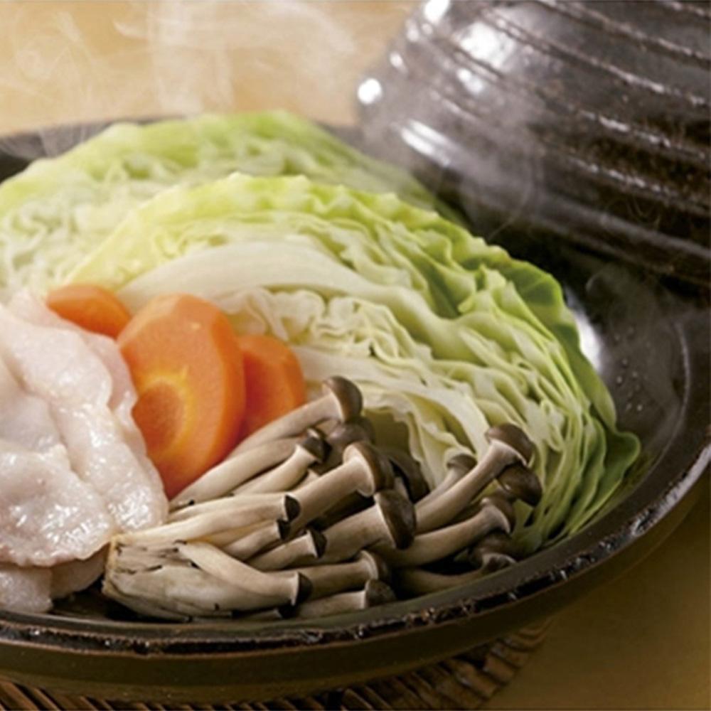 長谷園伊賀燒-冷熱兩用-陶珍菜蒸煮調理盤(大)
