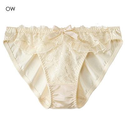 aimerfeel 清透蕾絲內褲-米白色-451621-OW