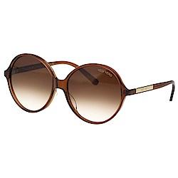 VEDI VERO 圓框 太陽眼鏡 (透明咖啡色)VE805